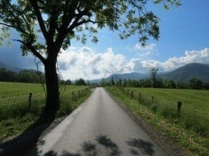 Cades Cove Loop Road is a great place to enjoy a Smoky Mountain driving tour!