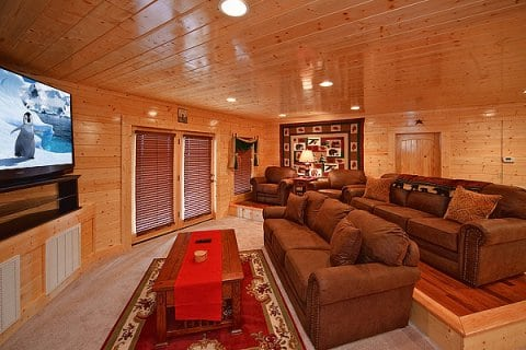 Dream View Manor cabin in Pigeon Forge