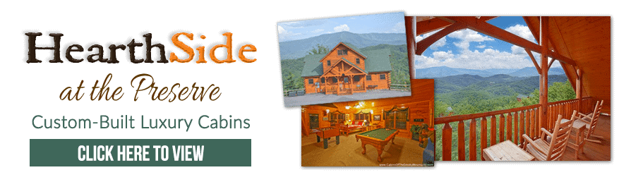 Hearthside at the Preserve - Custom Luxury Cabins for Rent