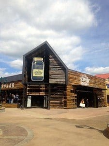 Close up of Ole Smoky Moonshine in Pigeon Forge