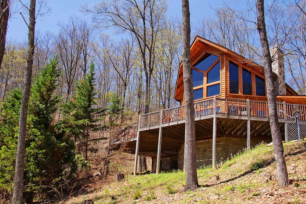 two bedroom cabin in pigeon forge