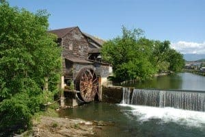 The Old Mill Square in Pigeon Forge