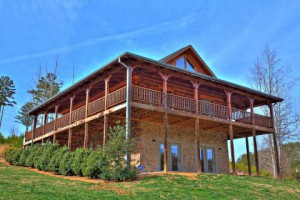 Bear Elegance Pigeon Forge cabin with indoor pool