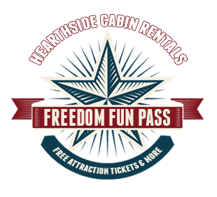The Hearthside Cabin Rentals Freedom Fun Pass