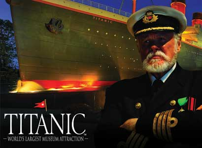 The Titanic Museum Attraction in Pigeon Forge