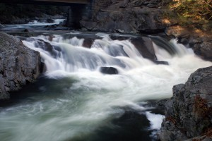 The Sinks waterfall in the Smoky Mountains