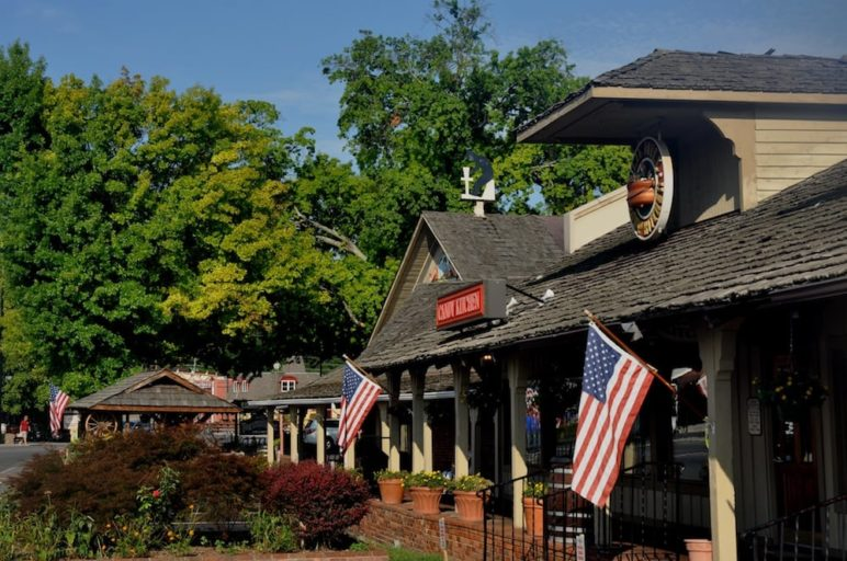 The Shops at the Old Mill in Pigeon Forge TN