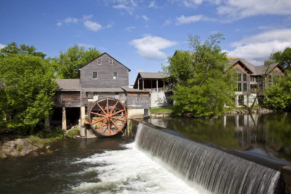 The Pigeon Forge Old Mill