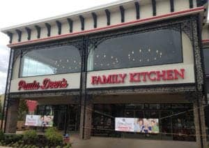 Paula Deen's Family Kitchen in Pigeon Forge.