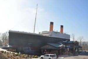 The Titanic Museum Attraction in Pigeon Forge TN.