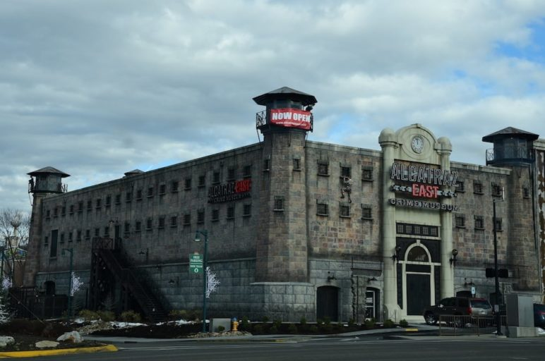 The Alcatraz East Crime Museum in Pigeon Forge.