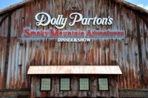 Dolly Parton's Smoky Mountain Adventures in Pigeon Forge TN.