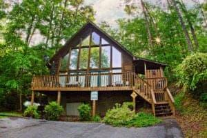 The Hillside Hideaway cabin.