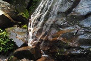 A waterfall near Gatlinburg.