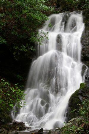 Cataract Falls near Gatlinburg.