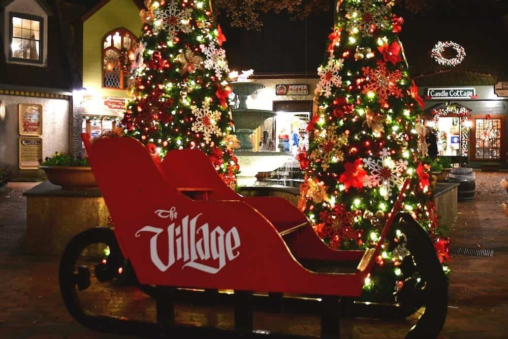 Village Christmas in Gatlinburg