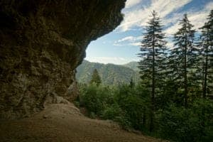 Alum Cave Trail in the Smoky Mountains