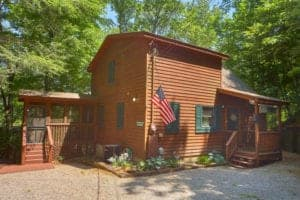 bear creek bluff cabin in pigeon forge tn
