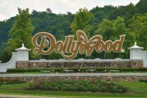 Sign at Dollywood