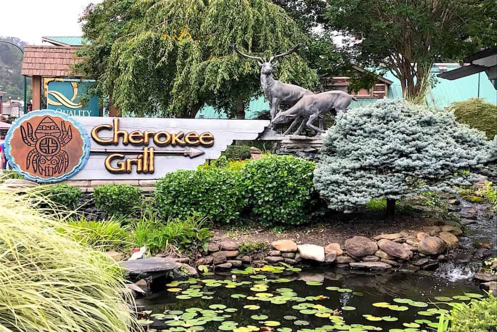 Cherokee Grill restaurant in Gatlinburg TN