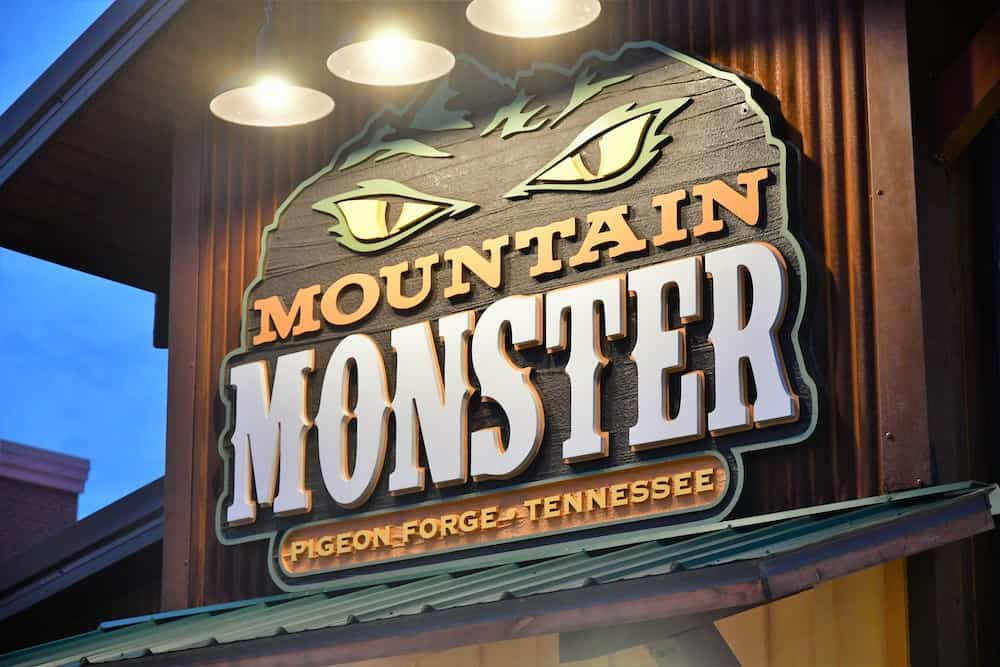 the mountain monster pigeon forge
